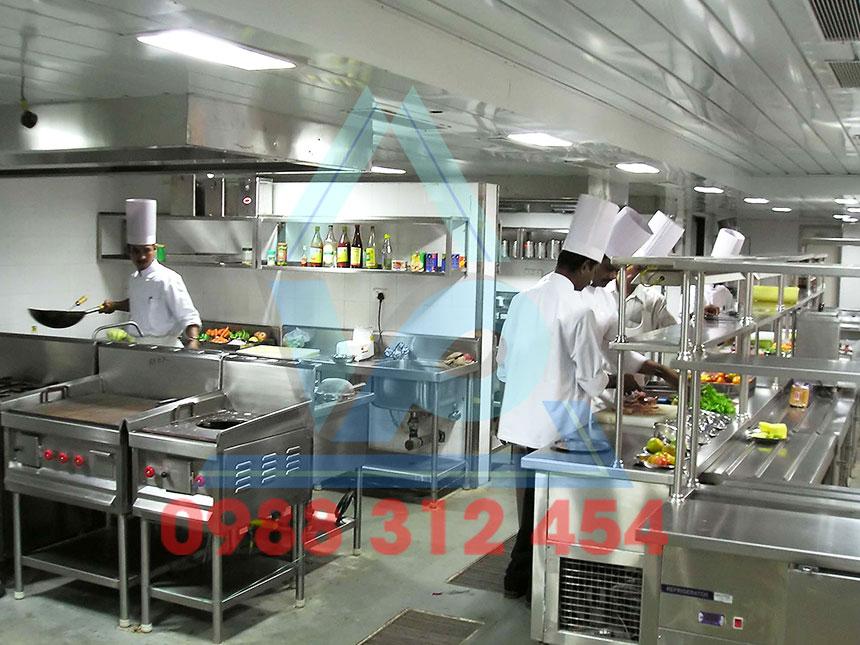 Bếp Chiên Nhà Hàng