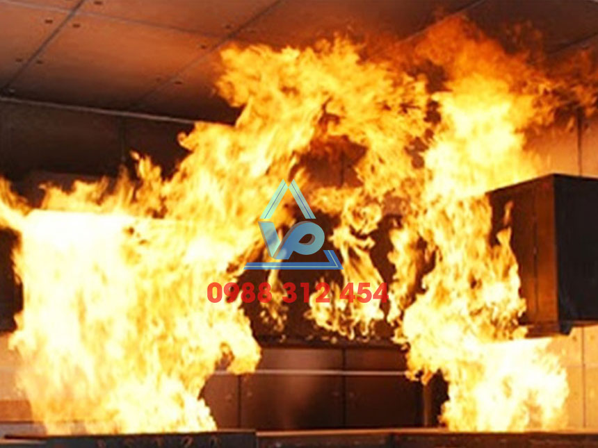 cháy nổ khu bếp