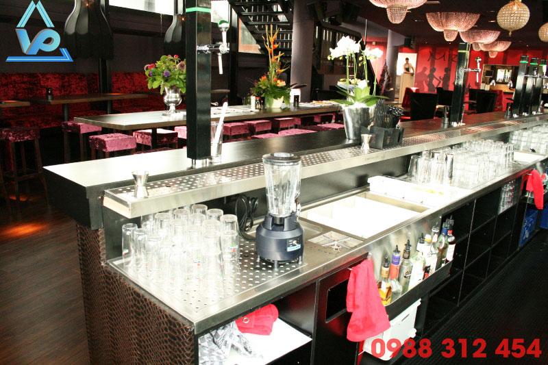 Module quầy bar inox