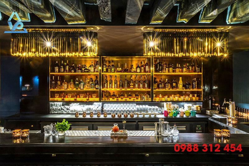 Quầy bar inox