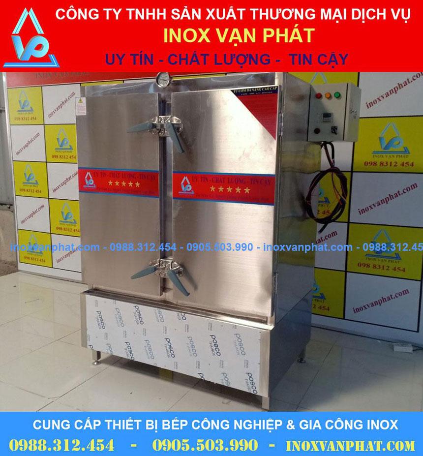 Tủ hấp cơm inox công nghiệp