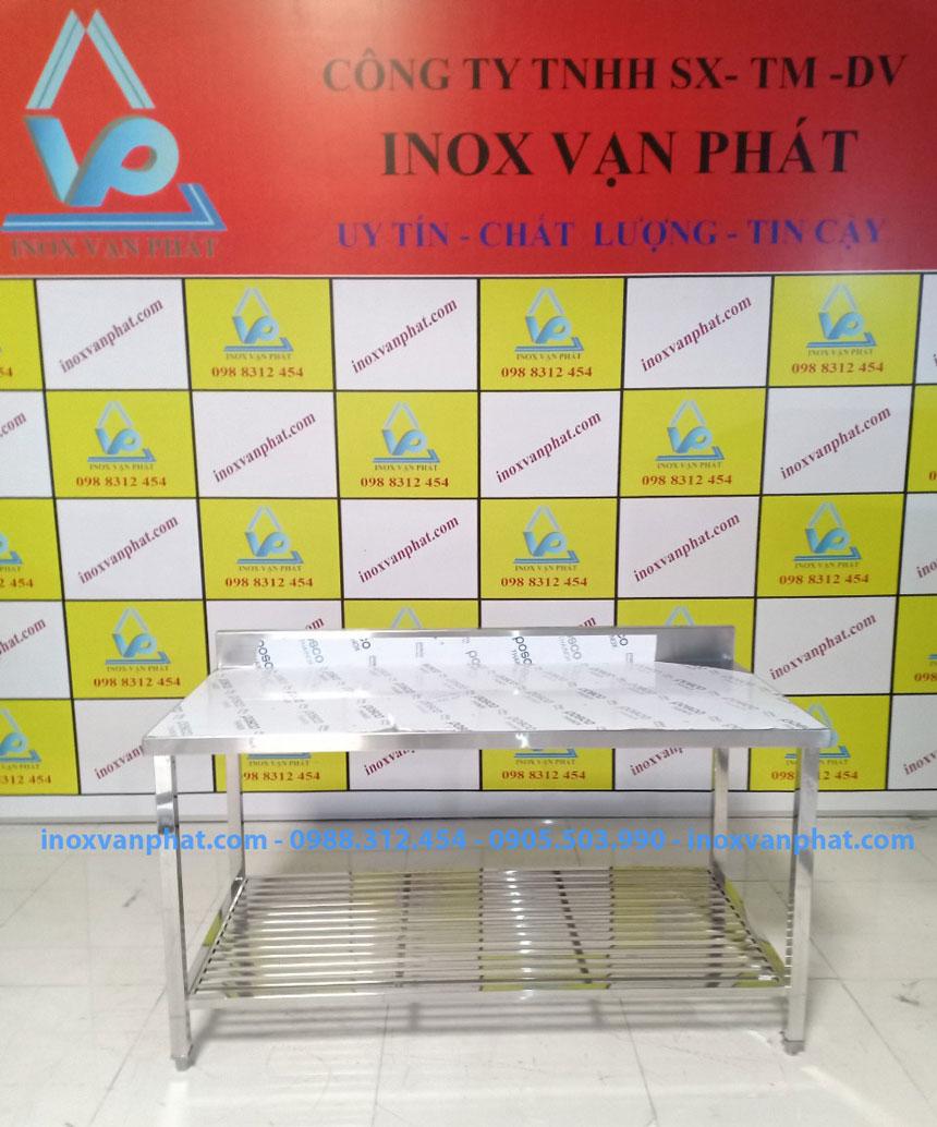 Bàn inox công nghiệp sản xuất tại Inox Vạn Phát