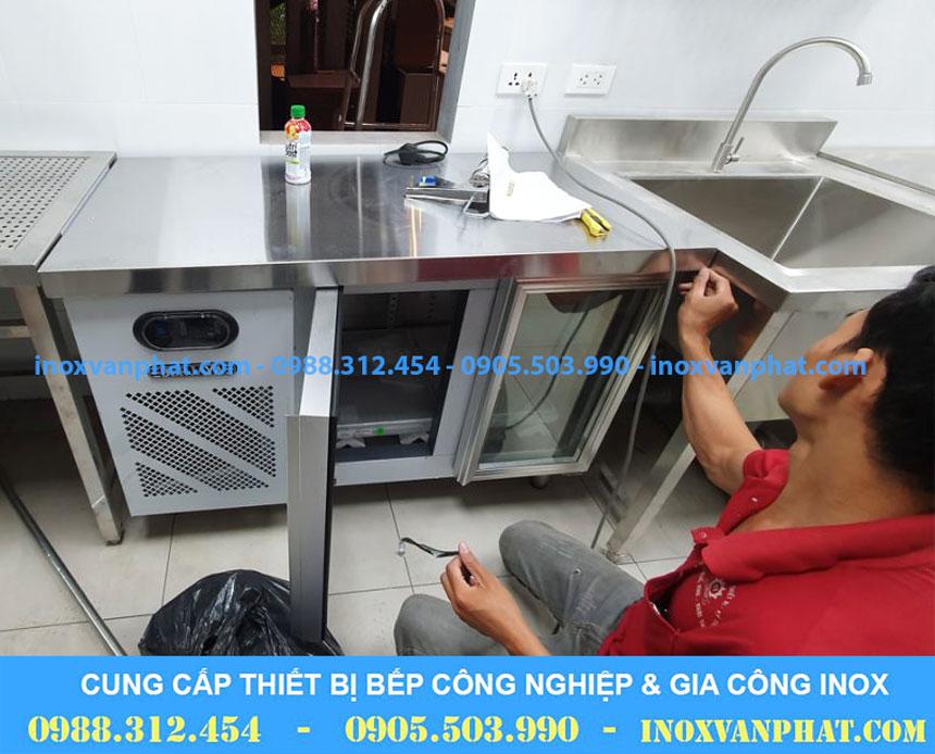 Thiết bị lạnh cung cấp tại xưởng Inox Vạn Phát