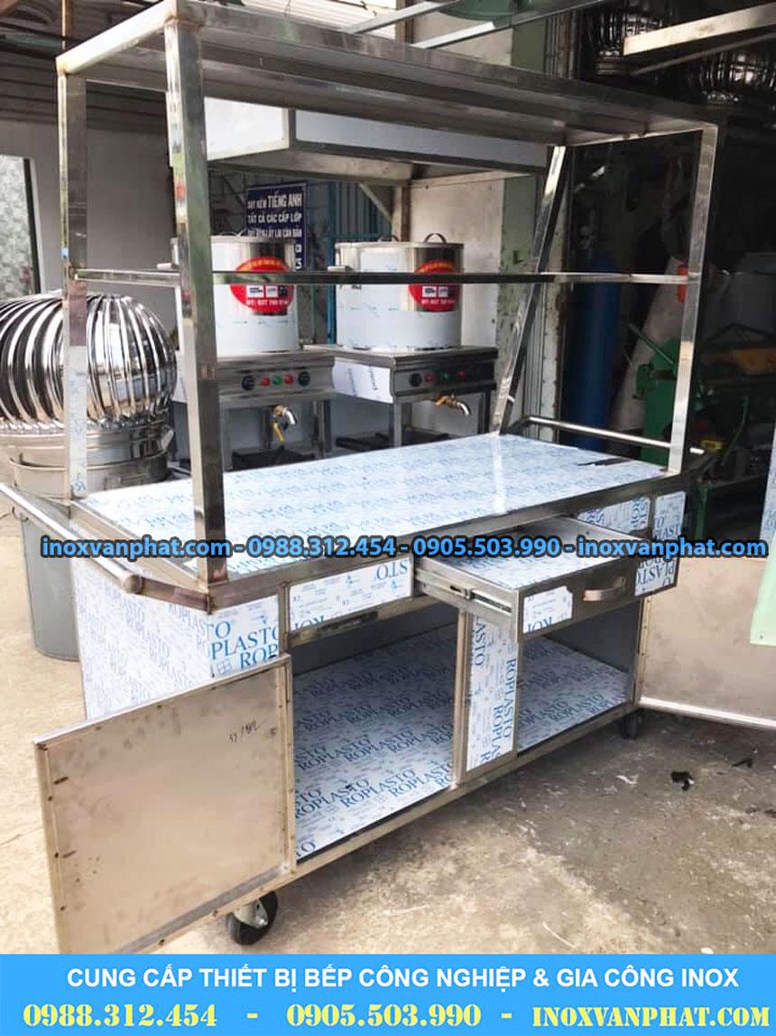 Tủ inox công nghiệp sản xuất tại Inox Vạn Phát
