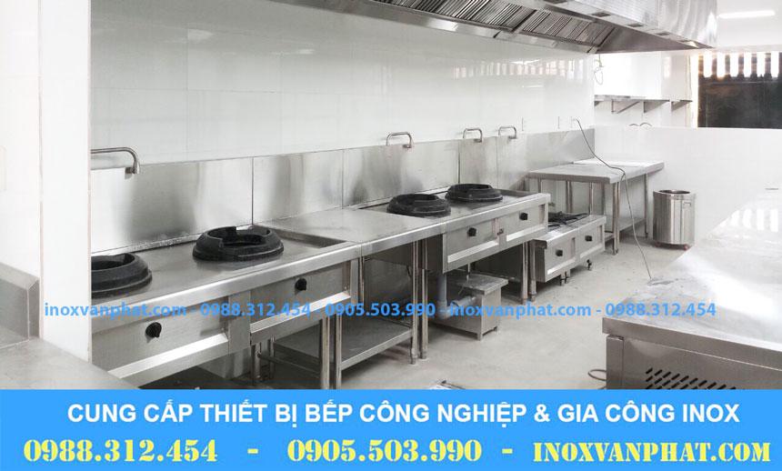 Bẫy mỡ inox áp dụng tại các gian bếp