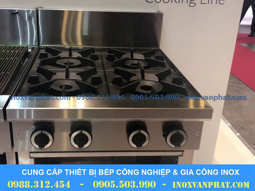 Bếp âu cung cấp tại Inox Vạn Phát