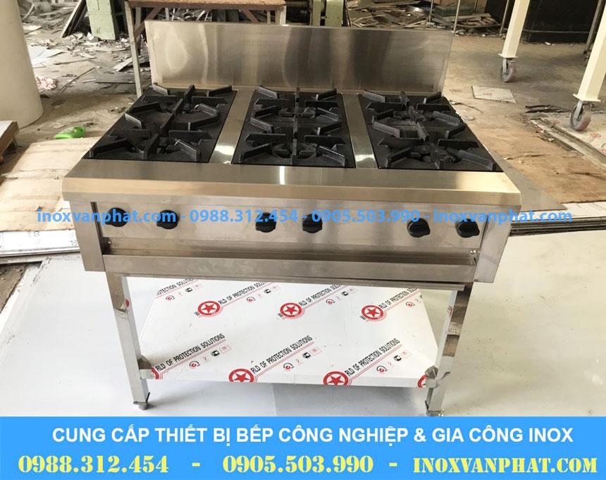 Bếp âu 6 họng sản xuất trong nước