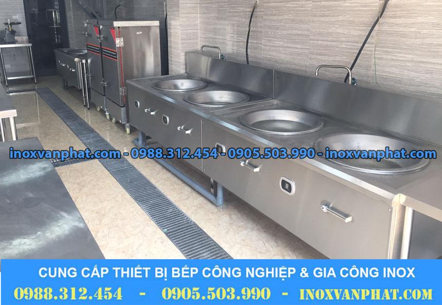 Bếp điện từ áp dụng tại các gian bếp