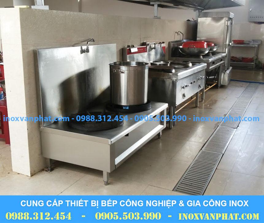 Bếp hầm áp dụng tại các gian bếp