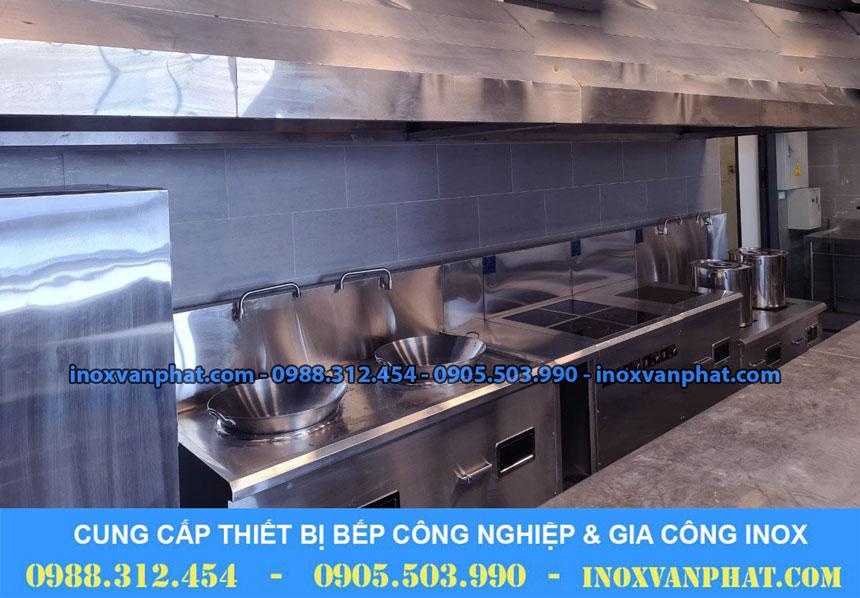 Bếp từ công nghiệp áp dụng tại các gian bếp