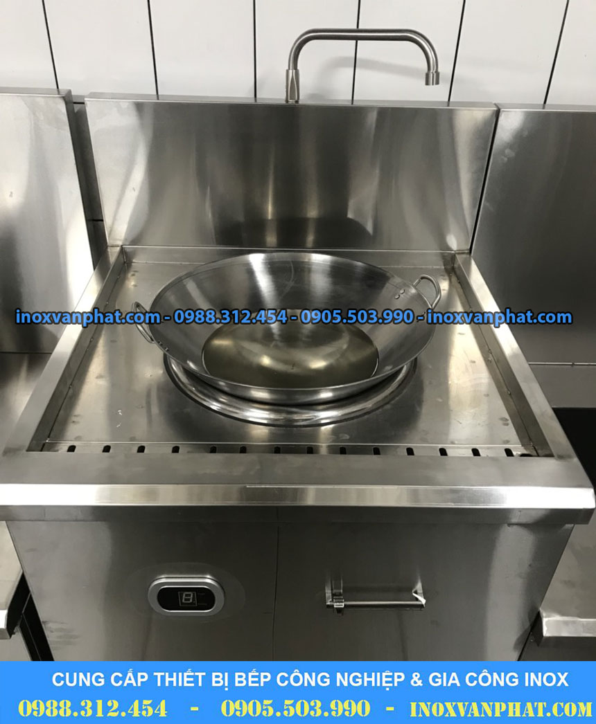 Bếp từ công nghiệp cung cấp tại Inox Vạn Phát