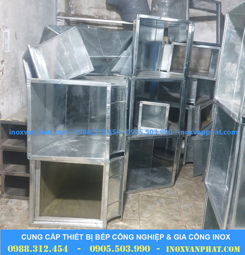 Ống dẫn khói sản xuất từ inox 304