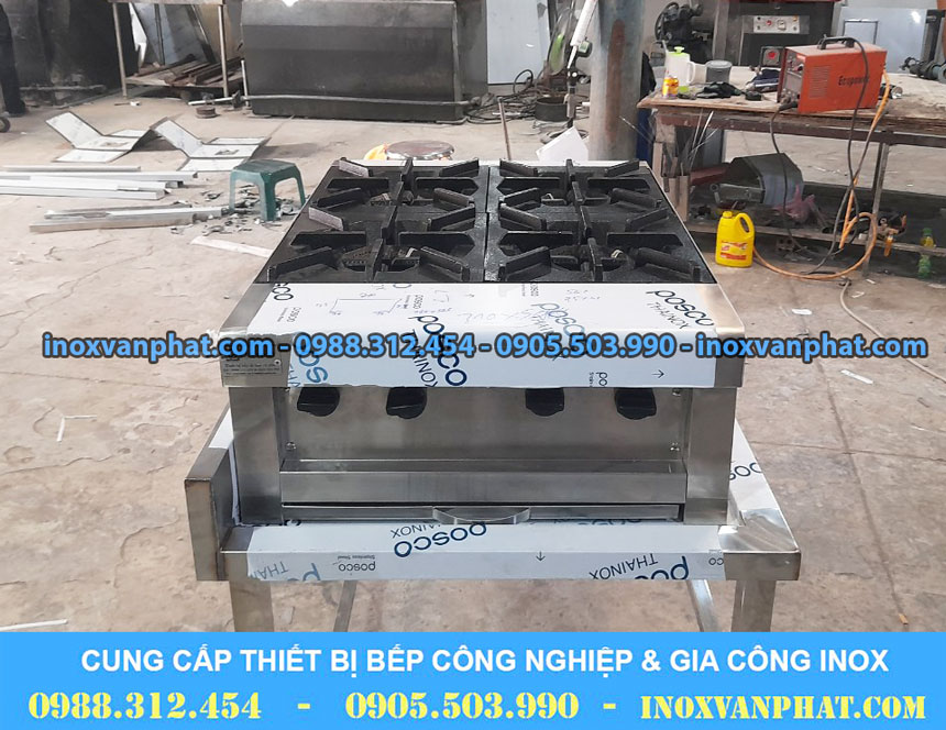 Bếp âu sản xuất tại Inox Vạn Phát