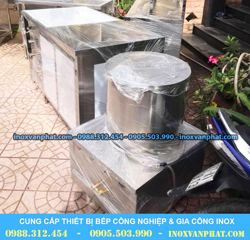 Nồi nấu phở inox 304 sản xuất tại Inox Vạn Phát