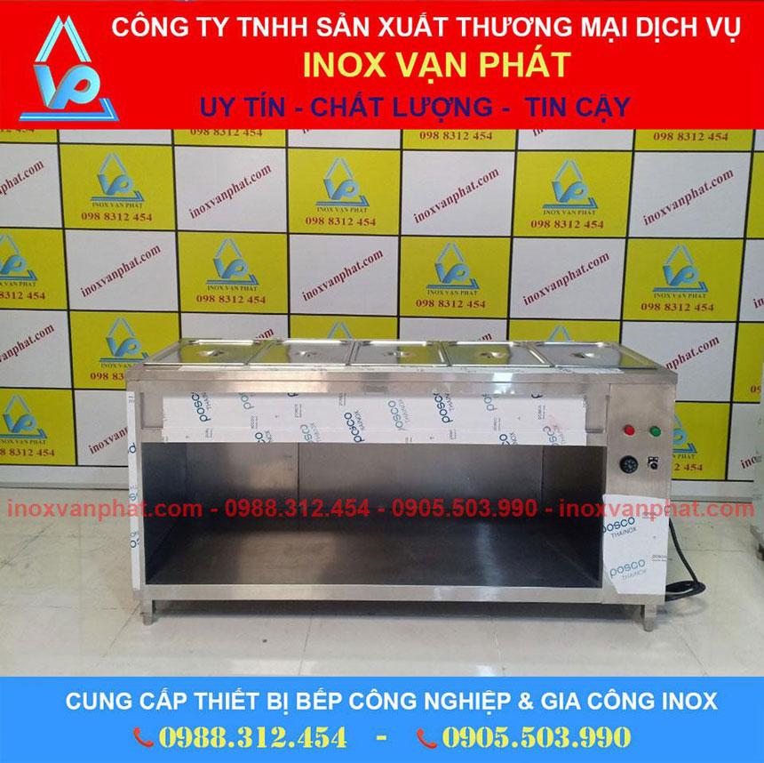 Tủ hâm nóng sản xuất từ inox 304 cao cấp