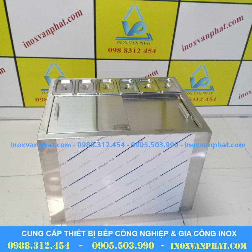 Thùng đá inox cung cấp tại Inox Vạn Phát