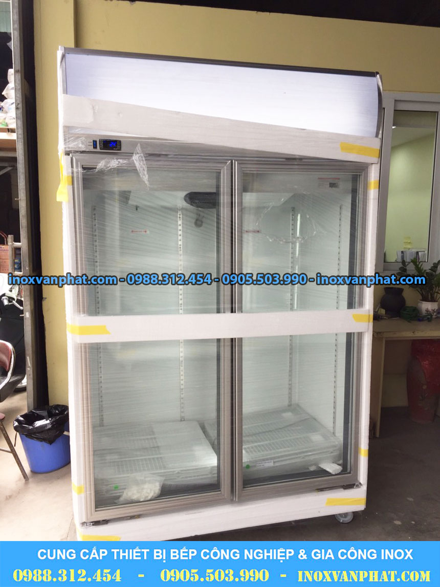 Tủ lạnh trưng bày cung cấp tại Inox Vạn Phát