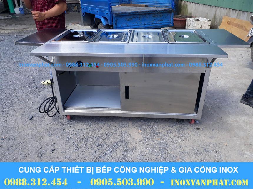 Tủ hâm nóng thức ăn sản xuất từ inox 304 cao cấp