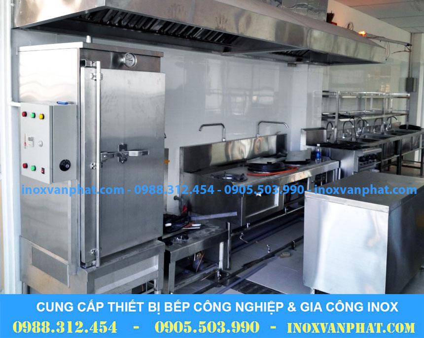 Tủ hấp cơm áp dụng tại các gian bếp