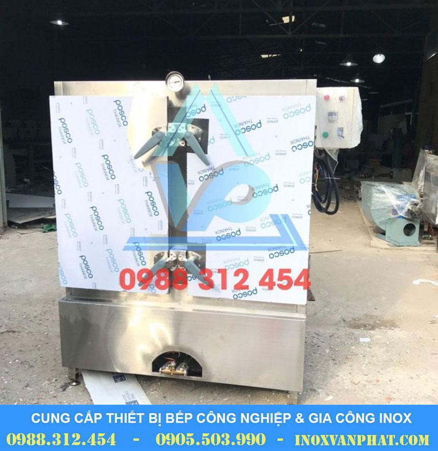 Tủ hấp cơm sản xuất tại Inox Vạn Phát