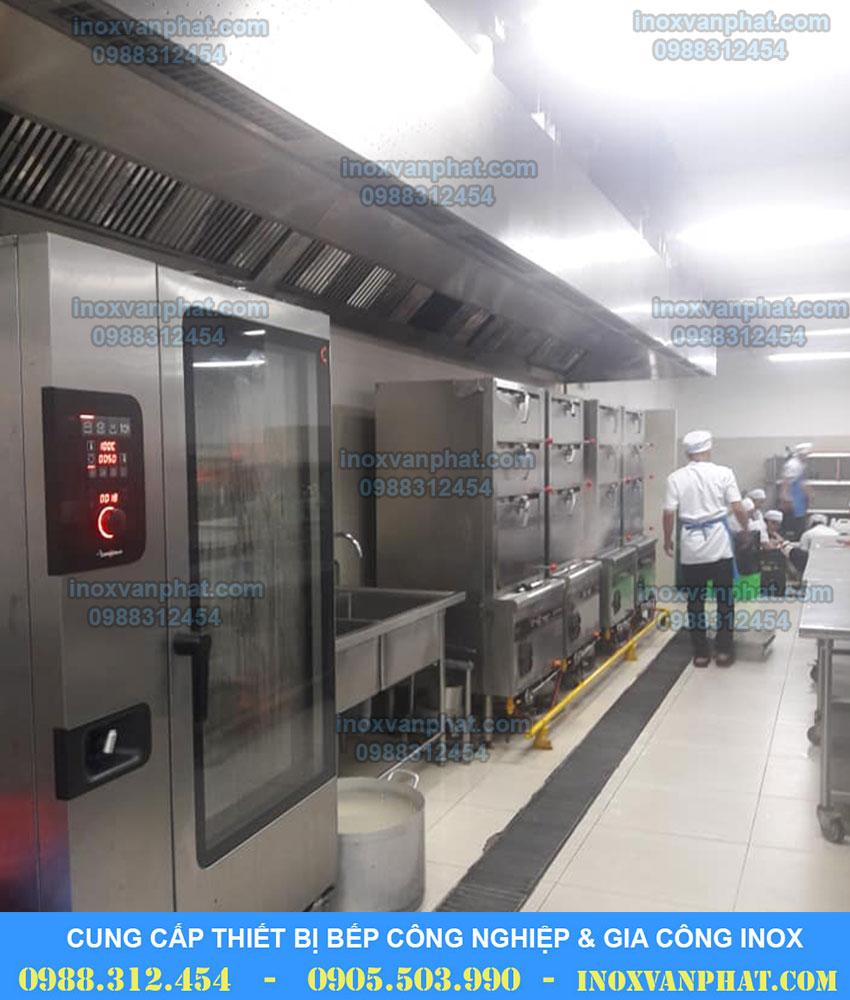 Tủ hấp cơm công nghiệp Vạn Phát