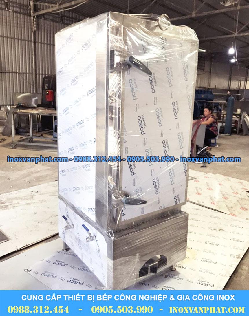 Tủ hấp cơm công nghiệp sản xuất tại Inox Vạn Phát