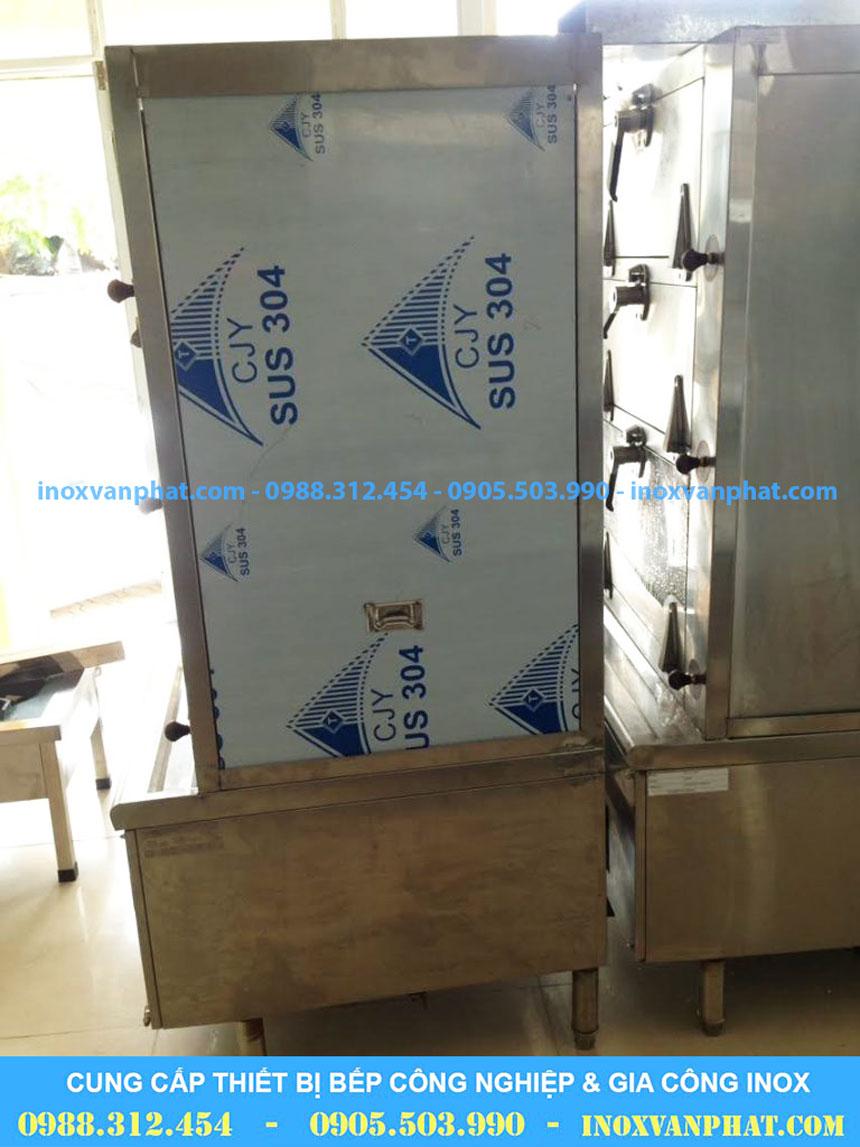 Tủ hấp hải sản cung cấp tại xưởng Inox Vạn Phát