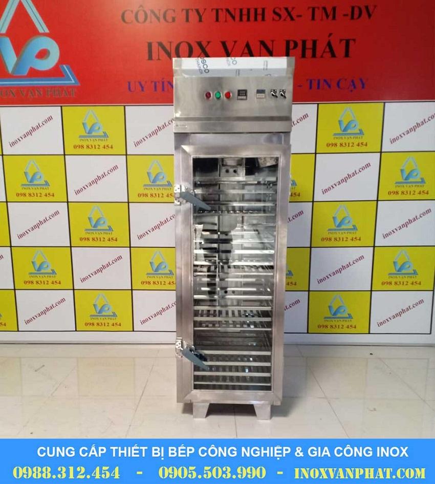 Tủ sấy chén công nghiệp cung cấp tại Inox Vạn Phát